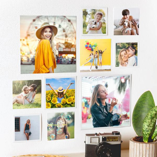 Stampa Foto Quadrate 10x10, 12x12 e 20x20 con o senza bordo ciaoalt